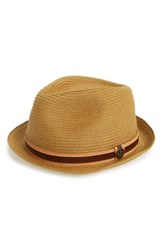 Goorin Bros. Men's Relax Straw Fedora Beige Natural