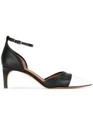 Givenchy Monochrome Pointed Toe Pumps Black