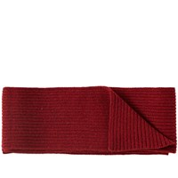 A.P.C. Stan Scarf Red