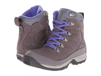 The North Face Chillkat Nylon Plum Kitten Grey Blue Iris Women's Hiking Boots Brown
