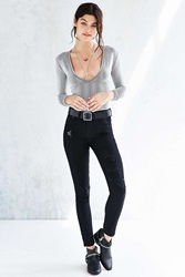 Zee Gee Why Sticks And Bones Mid Rise Jean Black