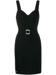 Philipp Plein Belted Dress Black