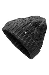 The North Face Minna Cable Knit Beanie Black Tnf Black