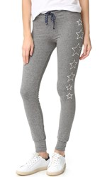 Sundry Stars Skinny Sweatpants Heather Grey
