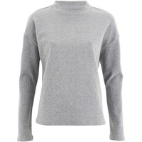 Selected Femme Women's Maja Sweatshirt Light Grey Melange