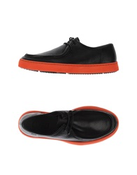 Camper Lace Up Shoes Black