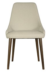Saloom Furniture Model 120 Upholstered Side Chair Brown