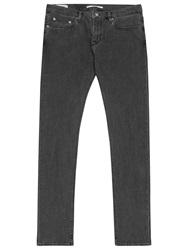 Reiss Vale Slim Fit Jeans Off Black