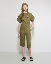 Vanessa Seward Bacan Jumpsuit Green