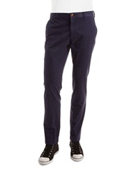 Brooks Brothers Red Fleece Flat Front Chino Pants Navy