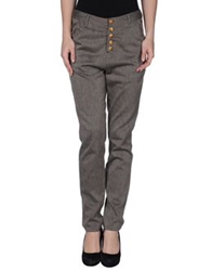 Firetrap Casual Pants Dark Brown