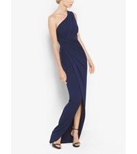 One Shoulder Stretch Jersey Gown