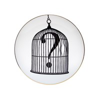 Rory Dobner Perfect Plates Question Mark Birdcage Large