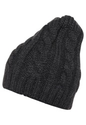 Kiomi Hat Dark Grey Melange Mottled Dark Grey