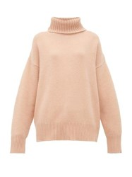 Extreme Cashmere No.20 Oversize Xtra Blend Sweater Light Pink