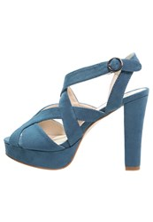 Anna Field High Heeled Sandals Electric Blue