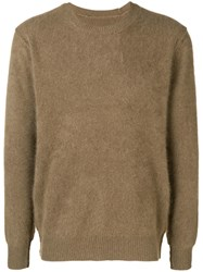 Attachment Brushed Sweater Neutrals
