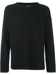Won Hundred 'Wrighty' Crew Neck Sweater Black
