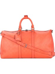 Louis Vuitton Vintage Keepall 45 Bandouliere Large Tote Red