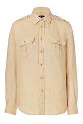 Polo Ralph Lauren Linen Safari Shirt