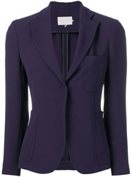 L'autre Chose Fitted Jacket Blue