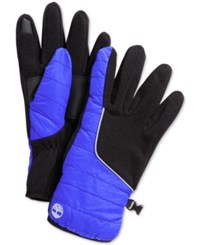 Timberland Puff Coat Touch Screen Glove Blue