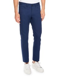 Berluti Five Pocket Slim Straight Jeans Navy Blue