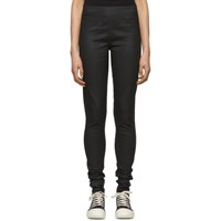 Rick Owens Drkshdw Black Denim Leggings