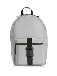 Christopher Kane Safety Buckle Reflective Backpack