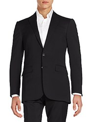 Ralph Lauren Solid Wool Sportcoat Black