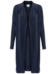 East Drape Front Cardigan Navy