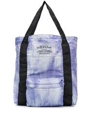 Diesel Shopak Fold Up Shopper Purple