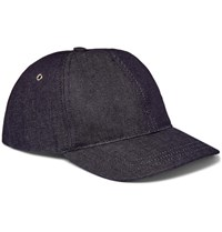 A.P.C. Louis Denim Baseball Cap Indigo