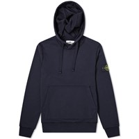 Stone Island Garment Dyed Popover Hoody Blue