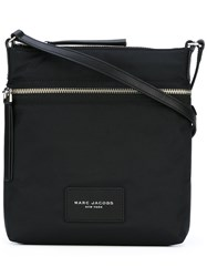 Marc Jacobs Top Zip Messenger Bag Women Nylon One Size Black