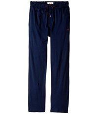 Tommy Bahama Solid Cotton Modal Jersey Knit Pants Navy Men's Pajama