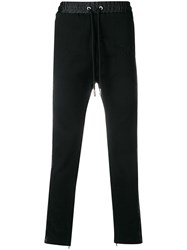 Diesel Embroidered Jogging Trousers Black