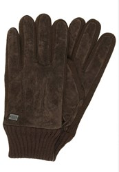 Replay Gloves Braun Brown