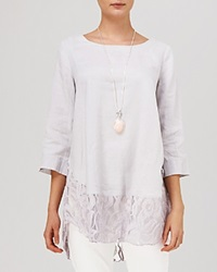 Phase Eight Top Aliya Linen Lace