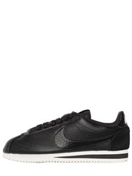 Nike Classic Cortez Embossed Leather Sneakers