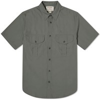 Filson Short Sleeve Feather Cloth Shirt Green