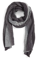 Men's Vince Cable Knit Wool And Cashmere Scarf