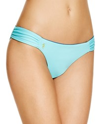 Polo Ralph Lauren Rip Tide Reversible Hipster Bikini Bottom Seafoam