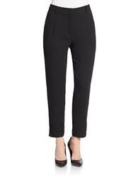 Essentiel Relaxed Ankle Length Pants Black