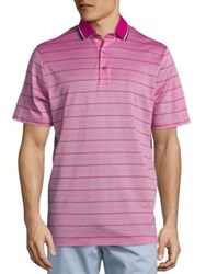 Saks Fifth Avenue Skinny Stripe Pique Polo