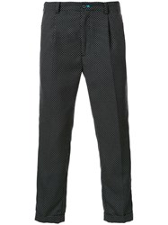 Guild Prime Dotted Cropped Trousers Black