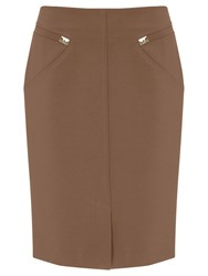 Nougat London Westminster Pencil Skirt Green