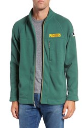 Tommy Bahama Men's 'Nfl Blindside' Knit Zip Jacket Packers