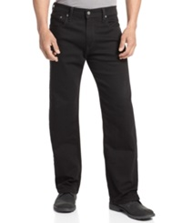 Levi's 569 Loose Straight Fit Black Jeans