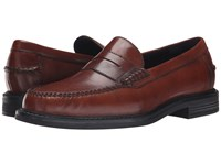 Cole Haan Pinch Campus Penny British Tan Antique Men's Slip On Dress Shoes Brown